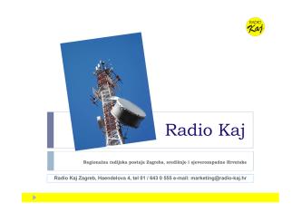 97,2 MHz - Radio Kaj