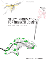 STUDY INFORMATION FOR GREEK STUDENTS