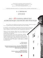 ovdje - Hrvatsko društvo za alergologiju i kliničku imunologiju