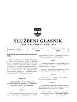 Sluzbeni glasnici 19 - Vlada Unsko