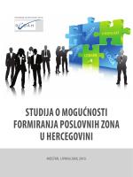 studija o mogućnosti formiranja poslovnih zona u - RIC