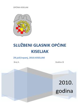2010. godina - Općina