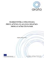 Marketing strategija privlačenja ulaganja u Sisačko