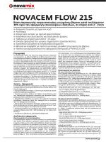 NOVACEM FLOW 215