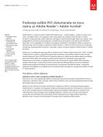 Podizanje zaštite PDF dokumenata na novu razinu uz Adobe