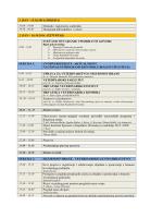 1. DAN - 15.10.2014.(SRIJEDA) Dolazak i registracija
