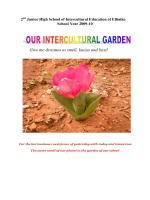 Ο διαπολιτισμικός μας κήπος