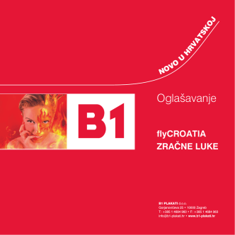 B1 plakati - CJENIK FLYCROATIA 2013-05