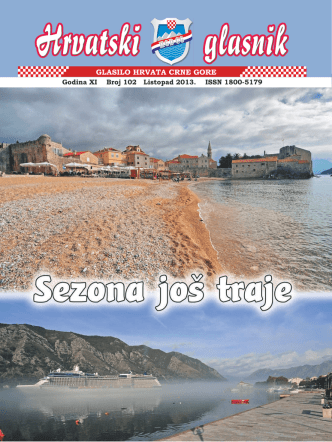 Aktualnosti - Hrvatsko građansko društvo Crne Gore