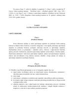 Zakon o upravljanju otpadom - Ministarstvu za građenje, prostorno