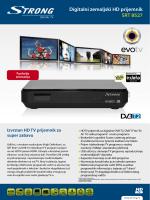 Digitalni zemaljski HD prijemnik SRT 8527