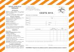CESTE 2013. - hrvatska komora inženjera tehnologije prometa i