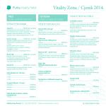 Vitality Zona / Cjenik 2014.