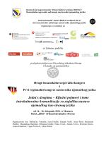 Program kongresa - Goethe