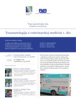 Traumatologija u veterinarskoj medicini 1. dio