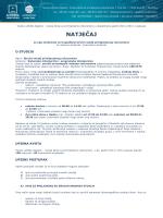 NATJEČAJ - Visoka škola za primijenjeno računarstvo