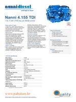 Nanni 4.155 TDI