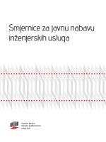 Smjernice za javnu nabavu inženjerskih usluga - Ius-Info