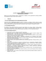 Upute za prijavu gradjanske akcije