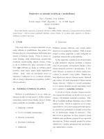 Smjernice za pisanje izvještaja s praktikuma