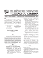 Službene novine Tuzlanskog kantona broj 10