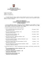 Službeni rezultati Općinskog izbornog povjerenstva za izbor