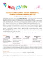 poziv na prijavu - Centar za razvoj neprofitnog sektora