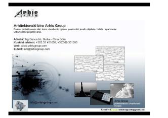 arhitektonski biro Arhis Group