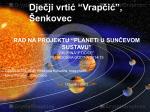Planeti u sunčevom sustavu