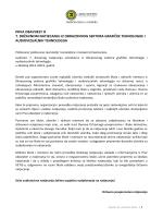 prva obavjest - Grafička škola u Zagrebu
