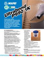 Ultrabond P990 1K Ultrabond P990 1K