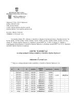tekst natječaja - Općina Oprisavci