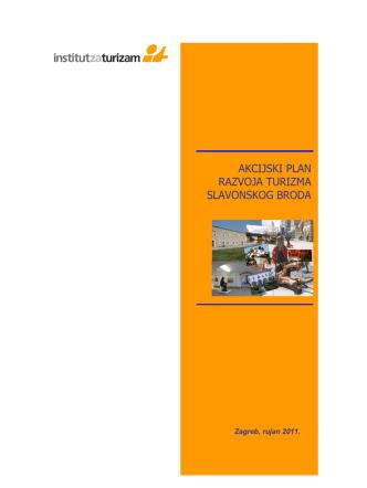 akcijski plan razvoja turizma slavonskog broda
