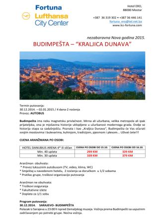 Budimpesta - Fortuna LCC