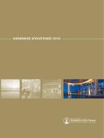 ΚΟΙΝΩΝΙΚΟΣ ΑΠΟΛΟΓΙΣΜΟΣ 2010 - Club Hotel Casino Loutraki