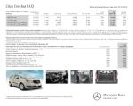 Ενδεικτικός τιμοκατάλογος για το Citan TAXI - Mercedes