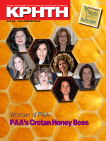 PAA`s Cretan Honey Bees - Pancretan Association of America