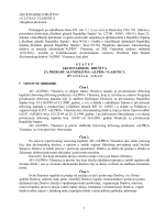 Predlog Statuta