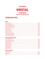питьевой - Resotran Kristal