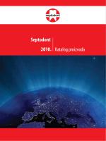 Septodont 2010. Katalog proizvoda