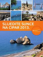 SLIJEDITE SUNCE NA CIPAR 2013.
