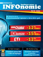 16 Elektroinstalacije i oprema 1.-30.4.2013. god. 5 21