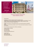PONUDA SVADBENIH SVEČANOSTI HOTEL BRISTOL LOVRAN