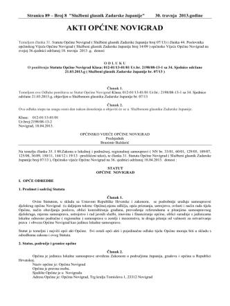 broj 8/13 - Općina Novigrad