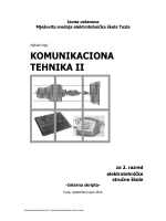 komunikaciona tehnika ii - Mješovita srednja tehnička škola Travnik