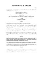 Sudski poslovnik - Pravosudna akademija