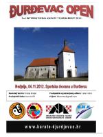 Pozivnica na turnir, kategorije i prijavnica (PDF)
