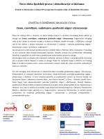 Novo doba ljudskih prava i demokracije u školama IZVJEŠTAJ S