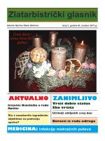 Glasnik 2-2011 - OPĆINA ZLATAR BISTRICA