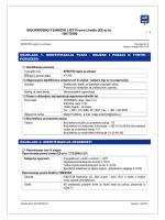 SIGURNOSNO-TEHNIČKI LIST Prema Uredbi (EZ-a) br